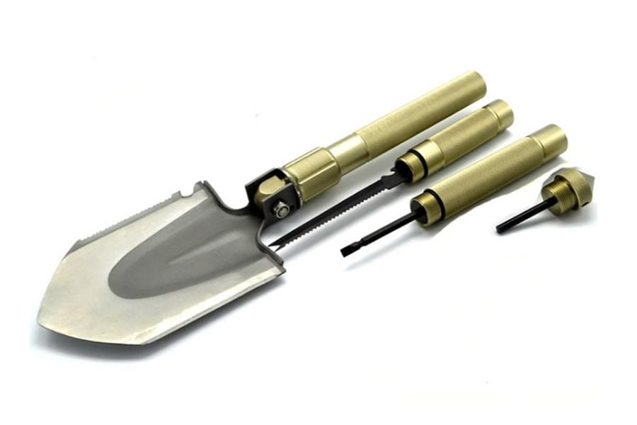 туристические лопаты - универсальная складная многофункциональная лопата mountain lion s (10 в 1)