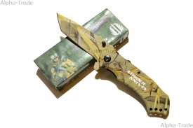 Нож туристический STRIDER Камуфляж